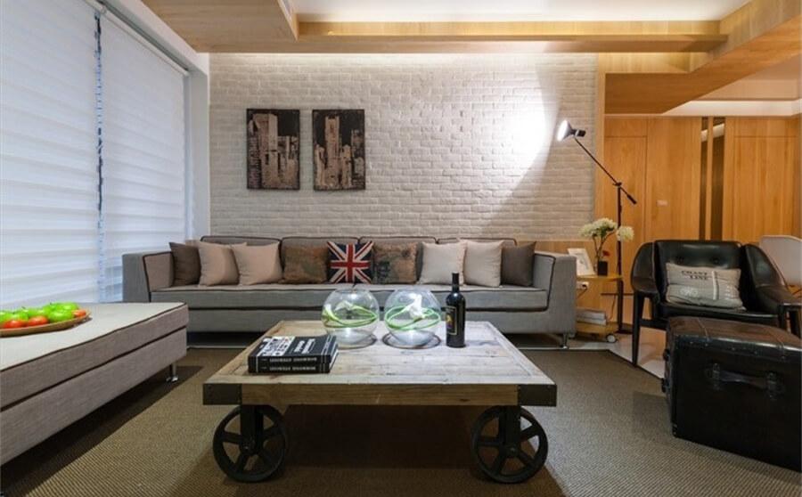 90平-金泉香槟城-北欧风格装修-6.08万