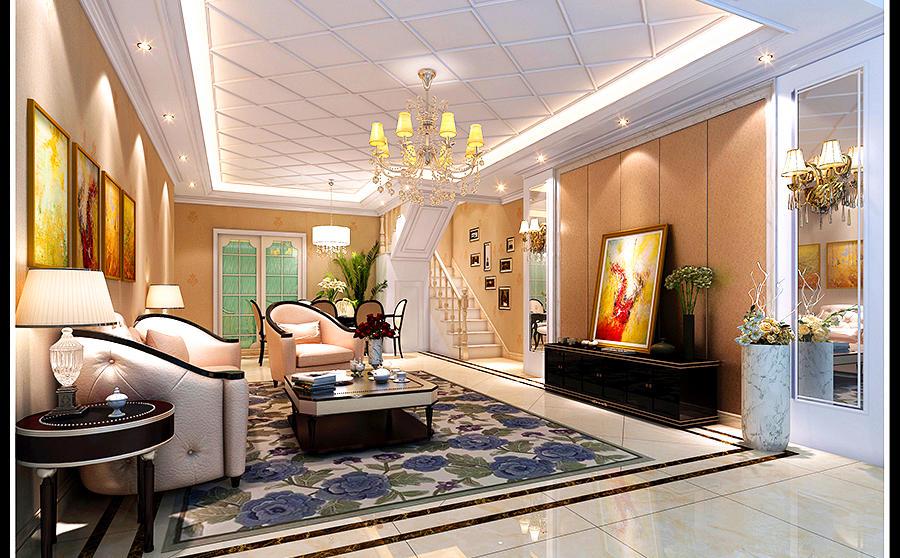 66平-金沙府邸-欧式/简欧风格装修-4.88万