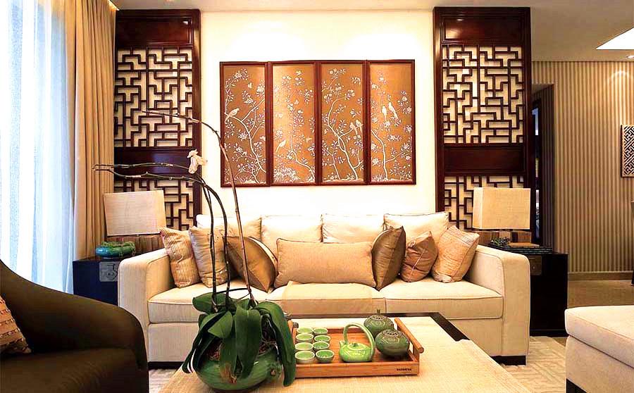 98平-金河谷-中式风格装修-6.55万