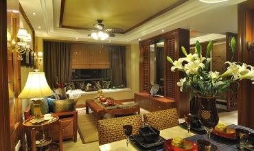 87平-锦东庭院-中式风格装修-5.90万
