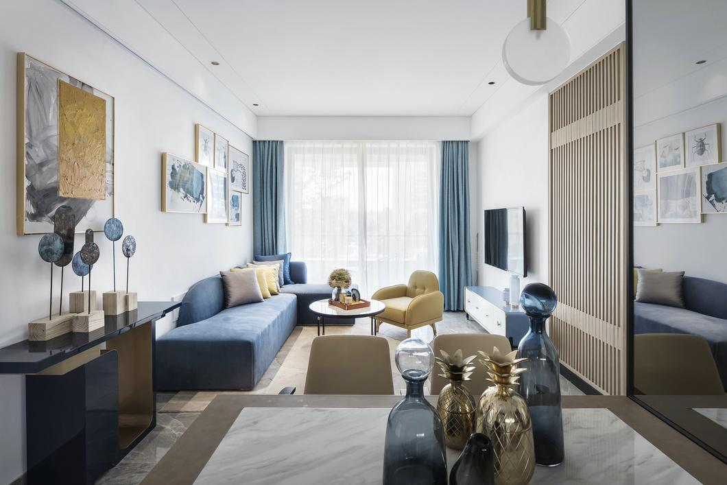 112平-棠湖泊林城-现代/简约风格装修-7.39万